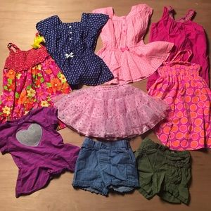 Toddler Girls LOT of clothes size 3T